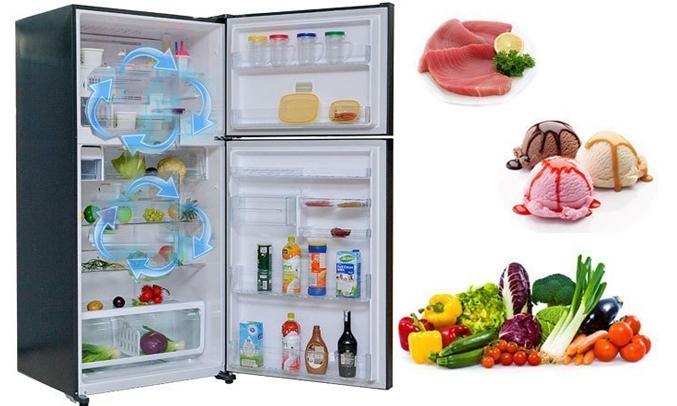 Description: Tủ lạnh Toshiba GR-M28VUBZ(UB) 226 lít xanh đen bảo quản thực phẩm tươi ngon