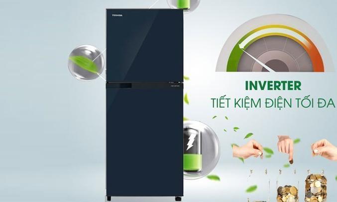 Description: Tủ lạnh Toshiba GR-M28VUBZ(UB) 226 lít xanh đen tiết kiệm điện