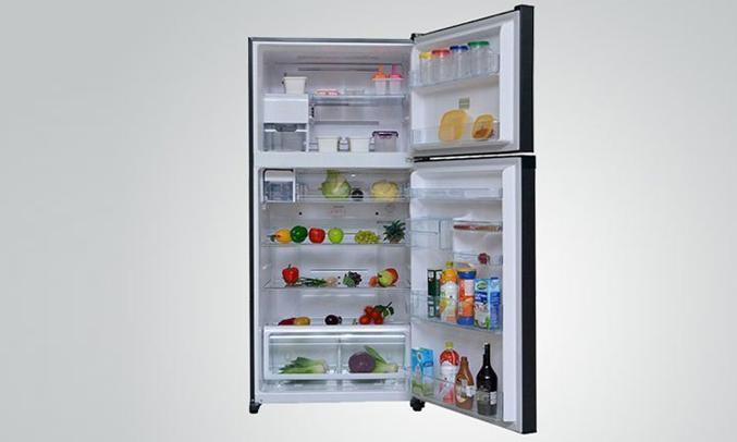 Description: Tủ lạnh Toshiba GR-M28VUBZ(UB) 226 lít xanh đen khay kính chịu lực bền bỉ